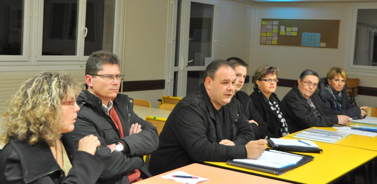 réunion des comités de pilotage 04.01.013