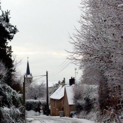 concours photo 2011, l'hiver à Lavardin