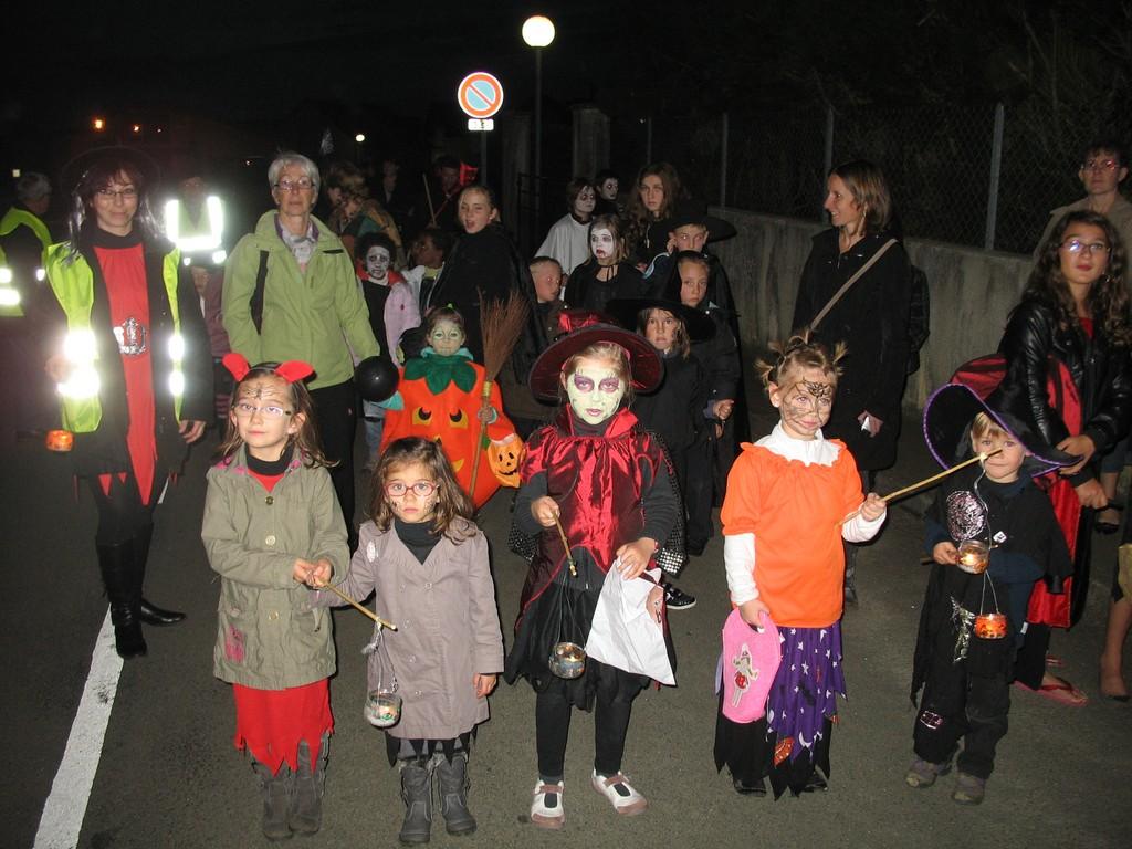 halloween 2011 à Lavardin !