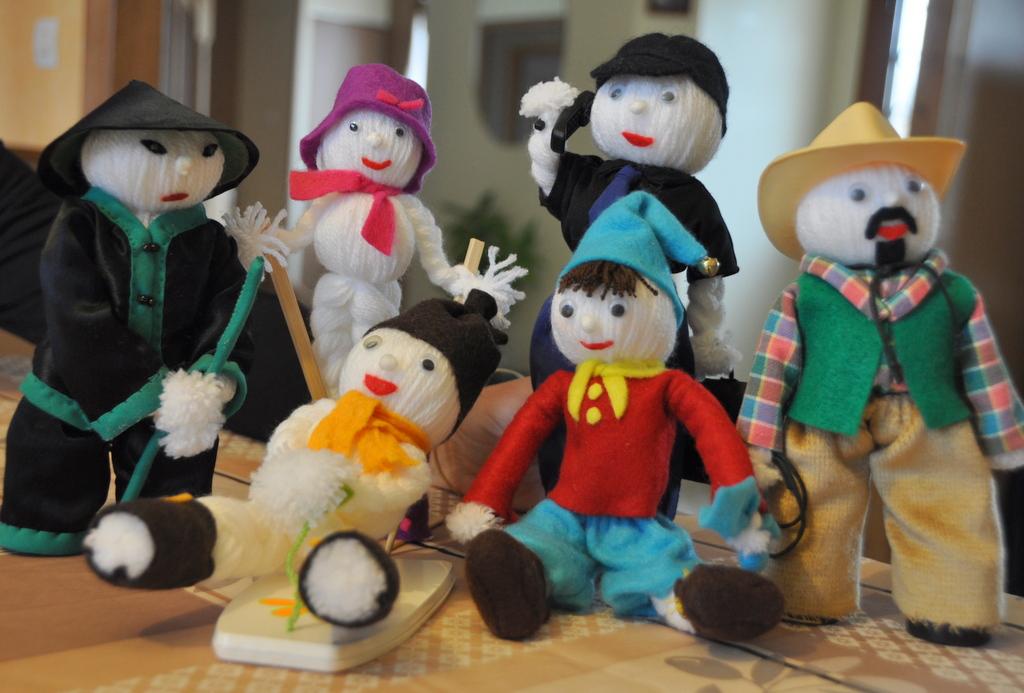 Les amis de la mascotte